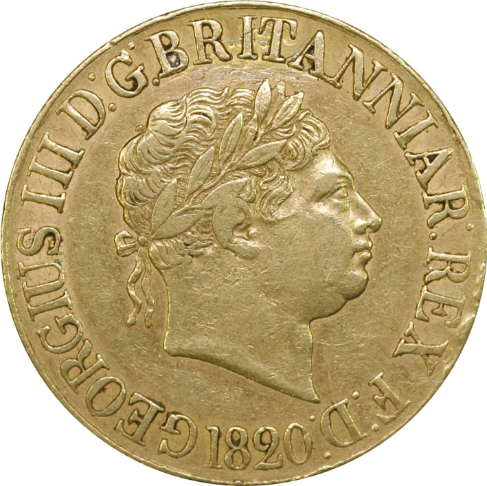 George III Sovereign 1817 - 1820